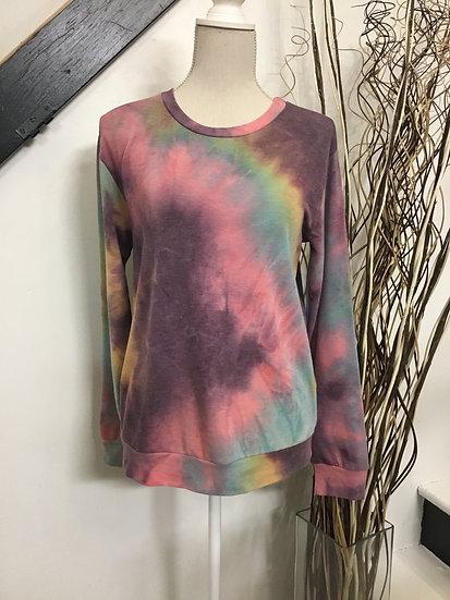 Lightweight Tye-Dye Sweatshirt