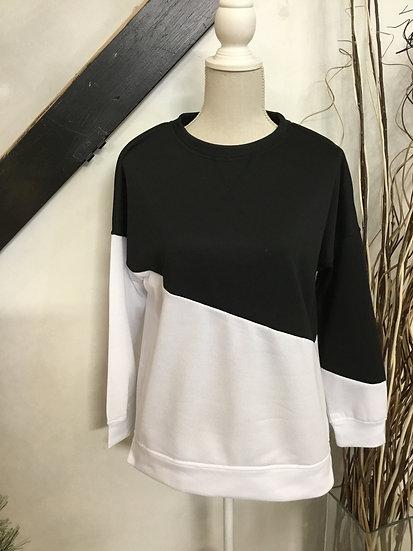 Black & White Sweatshirt