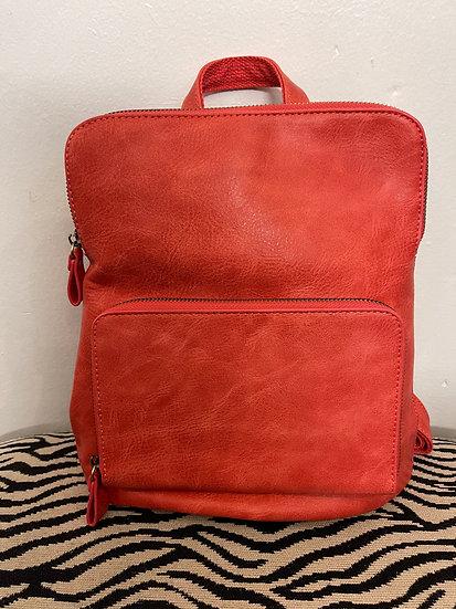 Coral Mini Backpack