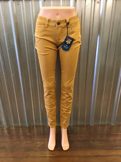 Golden Rubberband Stretch Skinny