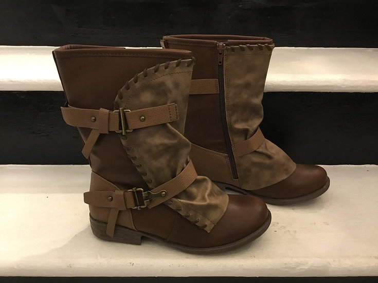 Chocolate Mid- Calf Boot