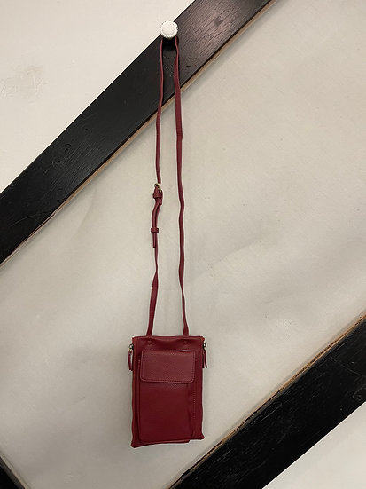 Garnet Multi Pocket Crossbody