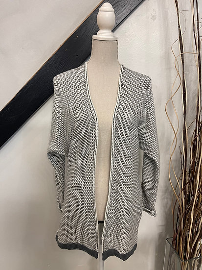 Charcoal Knit Cardigan