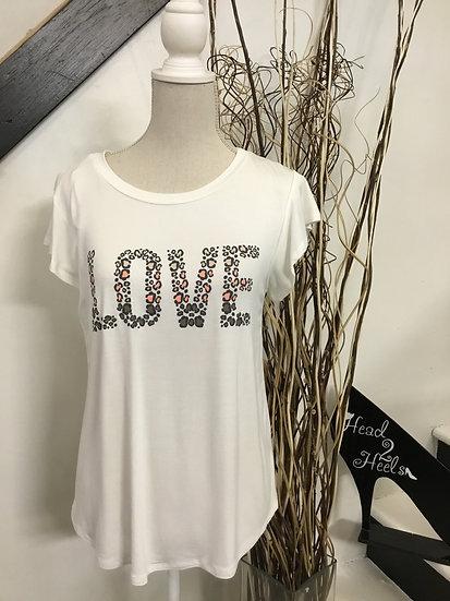 Love Flutter Sleeve TShirt