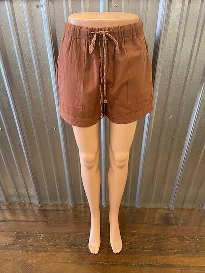 Brown Summer Shorts