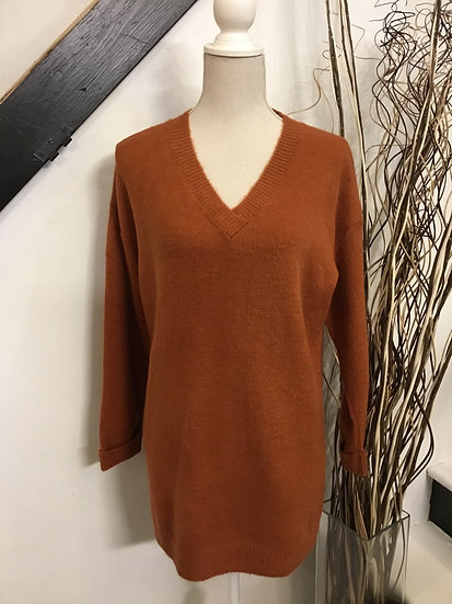 Oversized Rust Sweater
