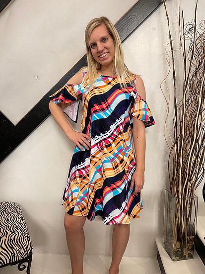 Drew Cold Shoulder Dress
