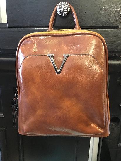 V Backpack Purse