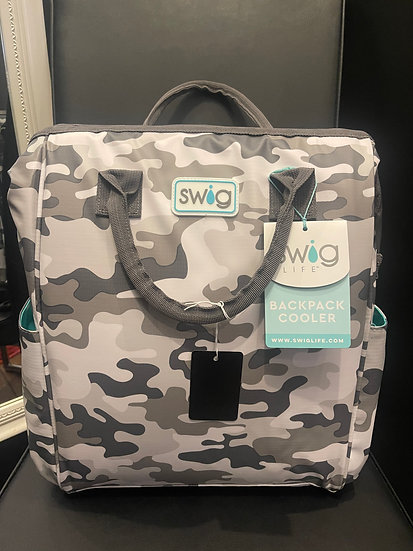 Camo Backpack Cooler