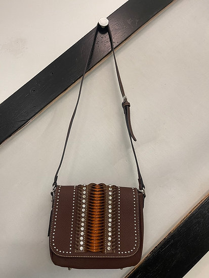 Brown Genuine Leather Purse