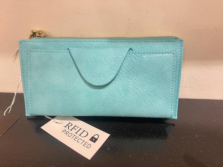 Turquoise Wallet/Wristlet
