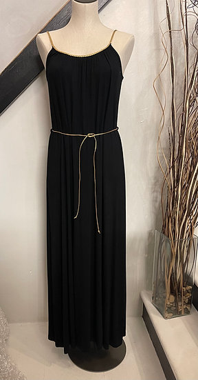 BlackMaxi with Gold Detail
