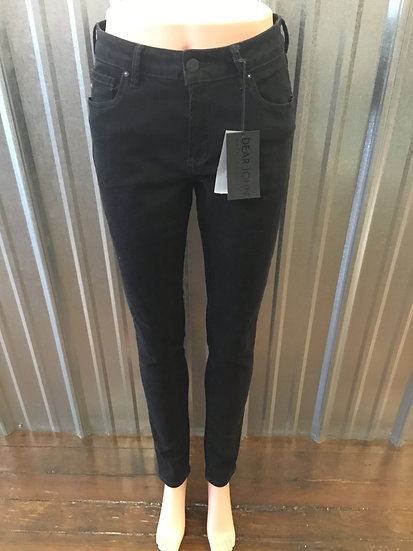 Black High Waisted Skinny