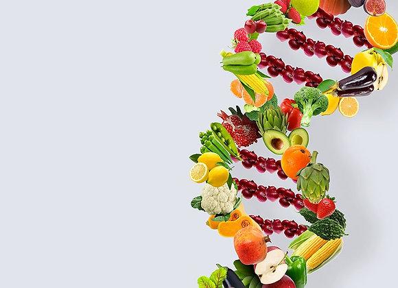 Prima visita nutrizionale + Test genetico Singolo