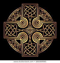 stock-vector-isolated-celtic-cross-from-