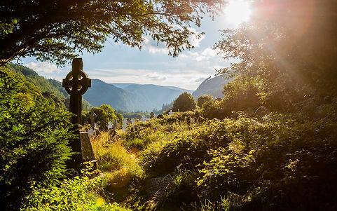 Celtic Cross_Glendalough_istock_Trista H