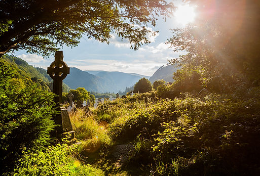 Celtic Cross_Glendalough_istock_Trista H