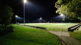 IWE Group Sports LED Floodlight Installation Dixie Park Port Macquarie