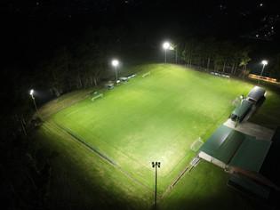 IWE Group Sports LED Floodlight Installation