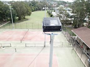 IWE Group LED Sports Floodlight Installation