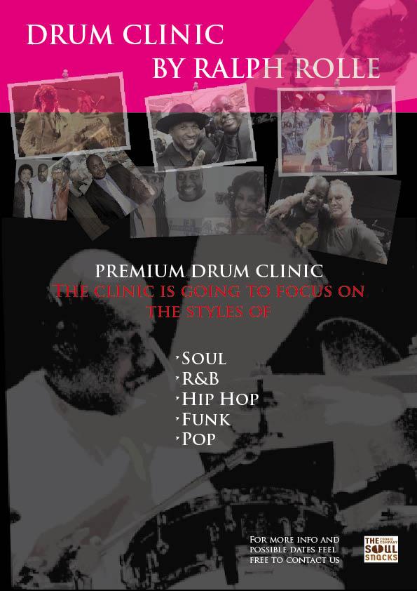 Ralph Rolle Drum Clinics