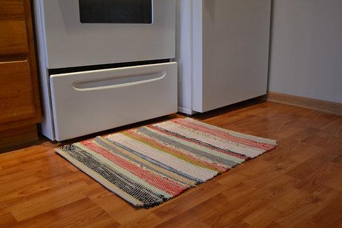 2x3 Multicolor Rag Rug