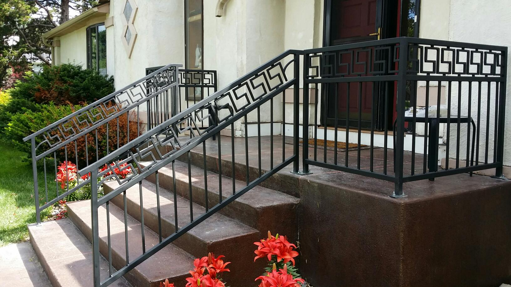 Greek Inspired Railing