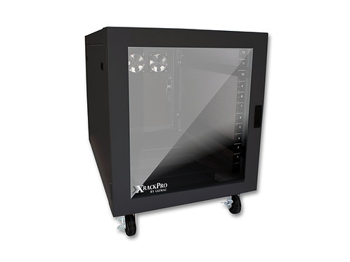 XRackPro2 12U Rackmount Enclosure Cabinet - Black