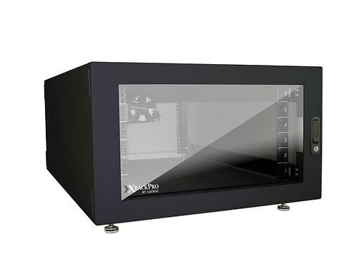 XRackPro2 6U Noise Reduction Enclosure - Blk