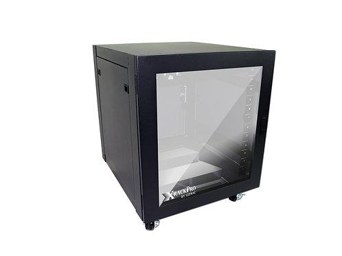 XRackPro2 12U STUDIO Rack Noise Reduction Rackmount Enclosure Cabinet