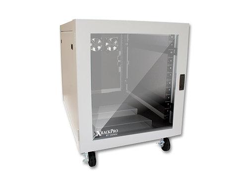 XRackPro2 12U Rackmount Enclosure Cabinet - Platinum Gray