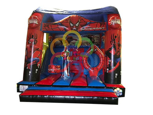 Tobogan Spiderman Techo