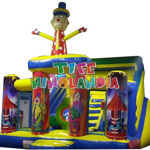 Tobogán Gran Payaso Circo