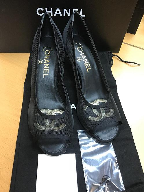 Босоножки Chanel, размер 36 1/2С