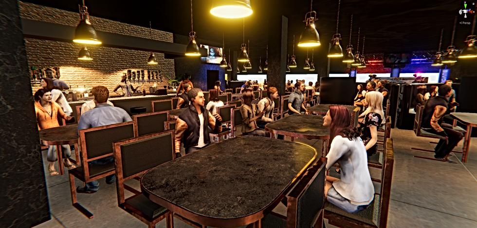 ROAMDOME Social Immersive Dining Entertainment