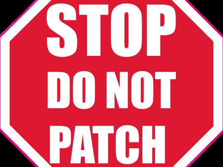 Intex Pool - Do Not Patch a Hole, Plug It
