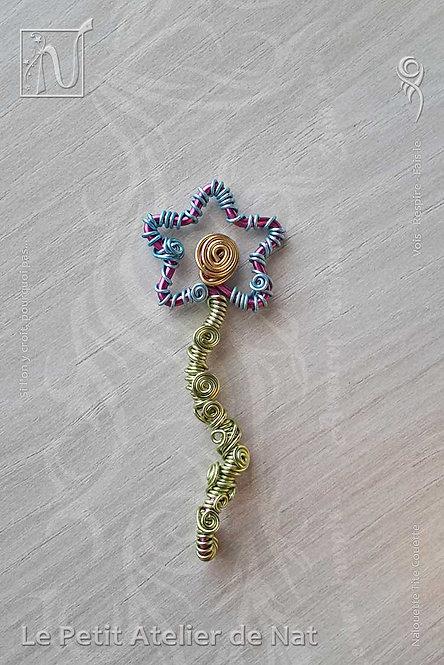 Élément décoratif - Fleur sur tige
