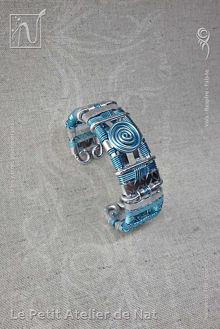 Bracelet « Indiana » dit « Eau qui danse » v1