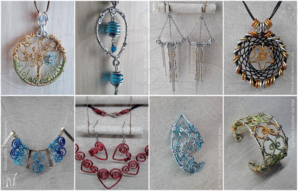Les bijoux en aluminium, une nouvelle façon de créer une mode enthousiaste et colorée, à prix raisonnés.