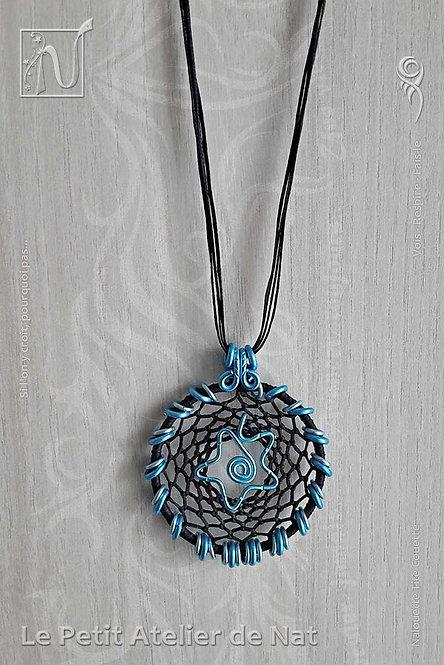 Collier « Étoile de passe » Turquoise