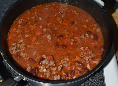 Adventures in Cooking: Chili!