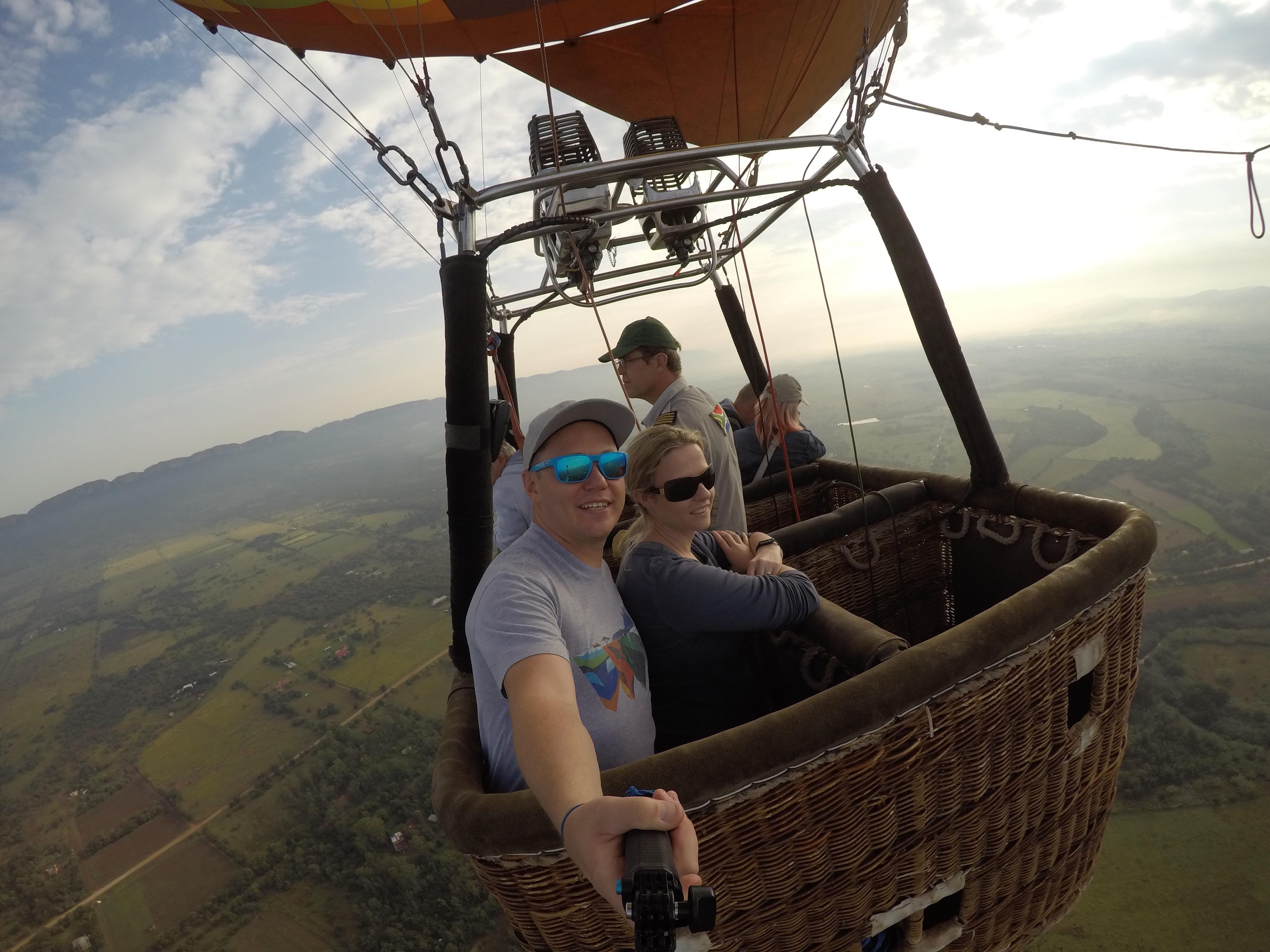 Hot air ballooning 2017