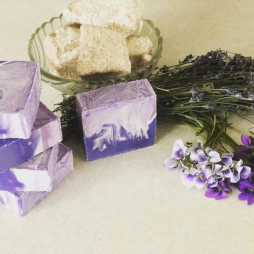 Lavender Violet Soap