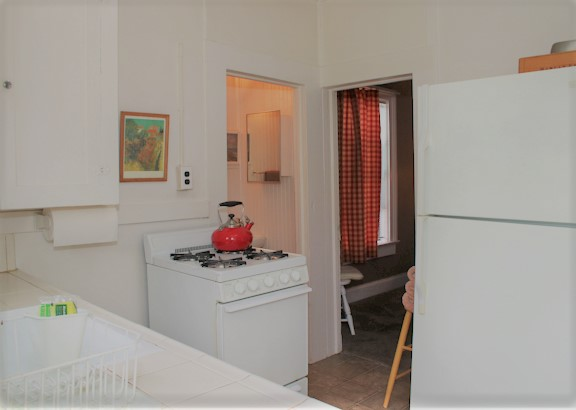 5 kitchen towards water closet and bedroom