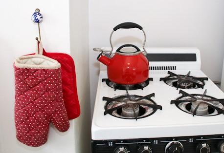 C stove detail