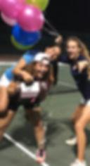 Mourning High Girls Tennis Team