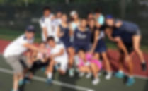 Mourning High Tennis Team