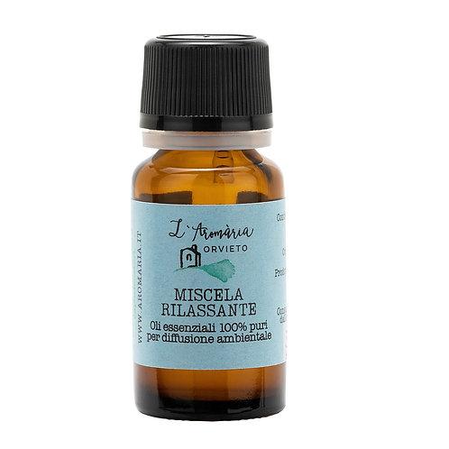 Miscela rilassante di oli essenziali 10 ml