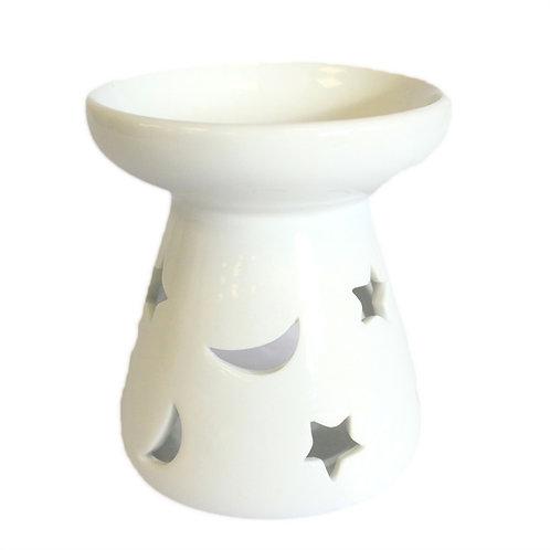 """Brucia essenze in ceramica """"Stelle e Luna"""""""