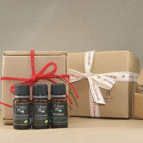 Kit regalo con oli essenziali